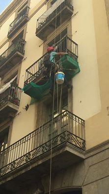 Reparación de balcón